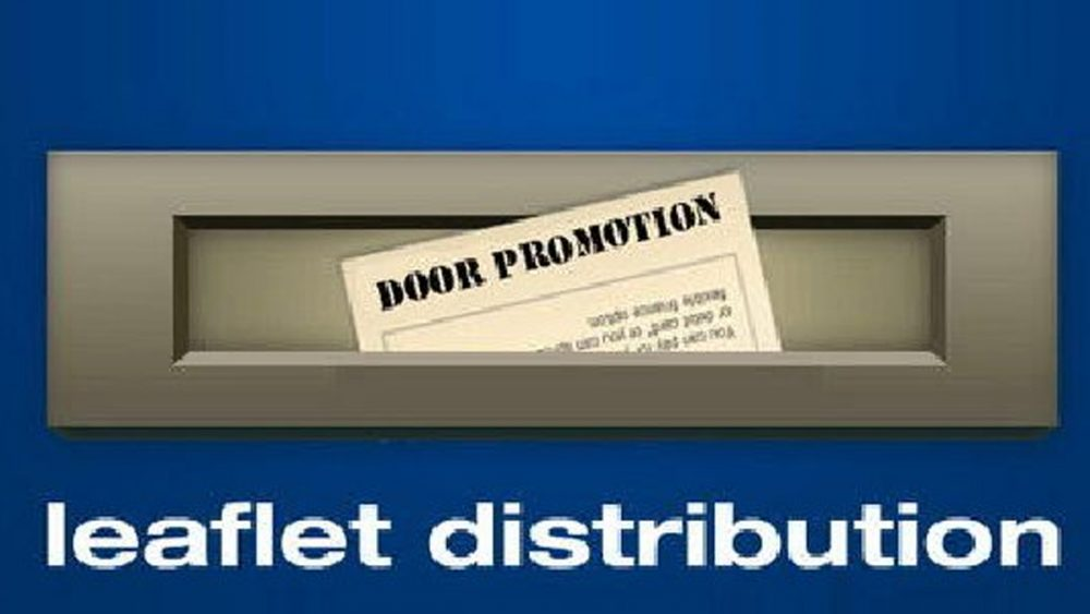 Leaflet Distribution Anywhere