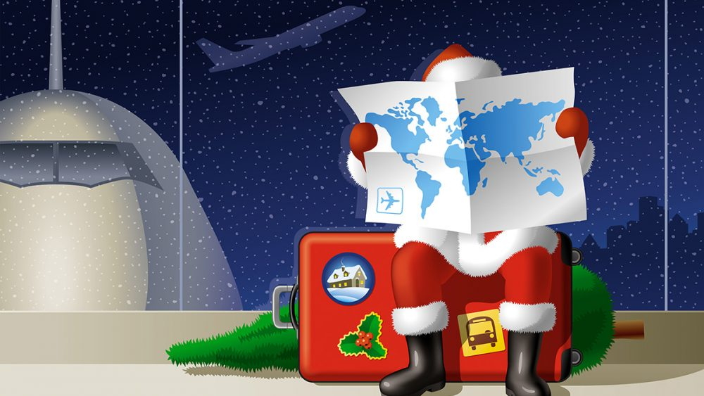 Christmas and Leaflet Distribution